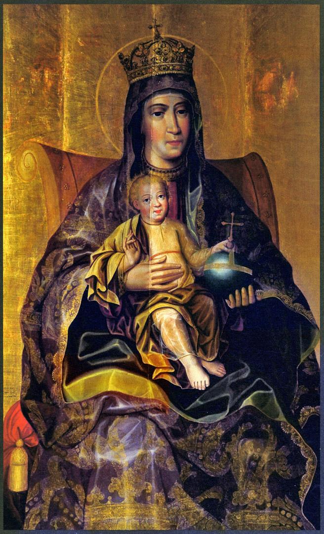 Богоматерь с Младенцем. Рубеж XVII-XVIII вв.