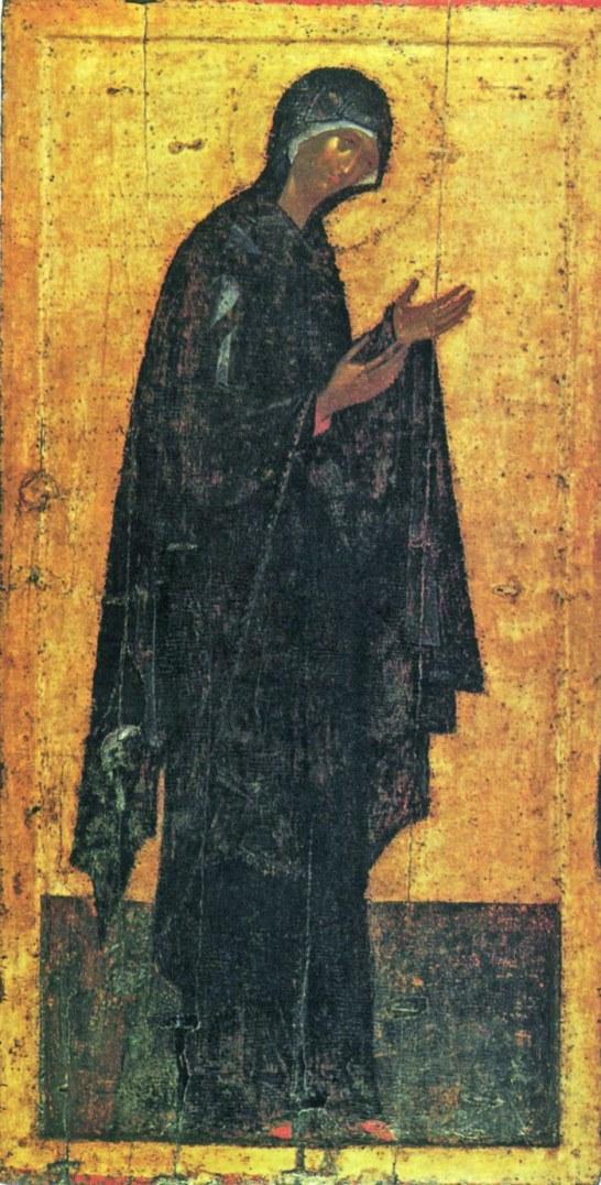 Богоматерь. Деисусный чин. 1405 г.