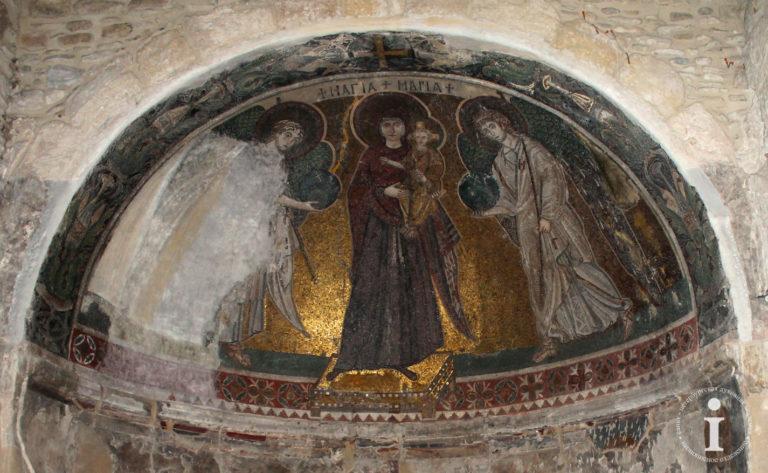 Богородица с Младенцем. VI в.