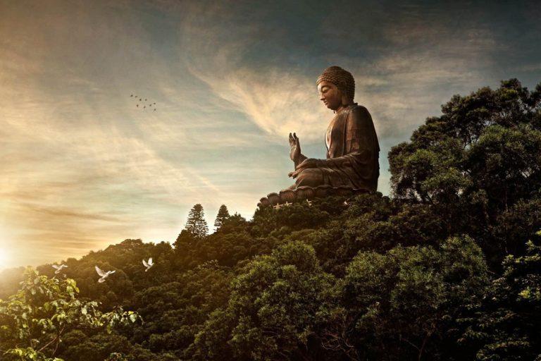 Большой Будда. 1990-1993