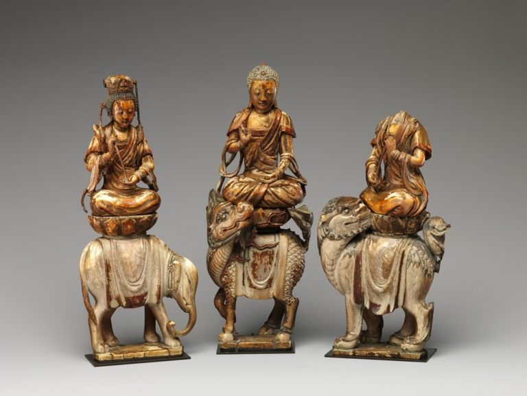 Будда Шакьямуни в окружении бодхисаттв. XII-XIV вв.