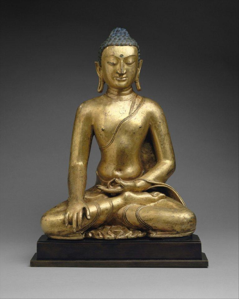 Будда Шакьямуни. XI - XII вв. Тибет