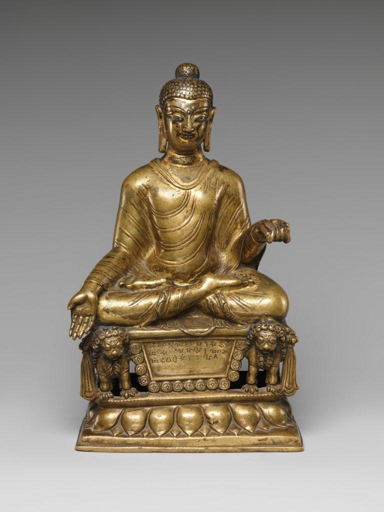 Будда, дарующий благо. Пакистан, VII в.