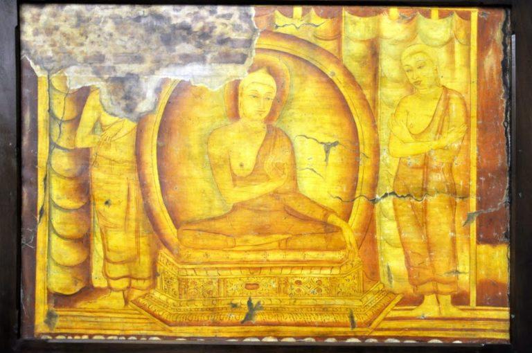 Будда и Ананда