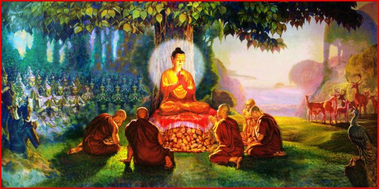 Будда и пять монахов