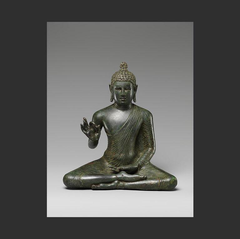 Будда, излагающий дхарму. VIII в.