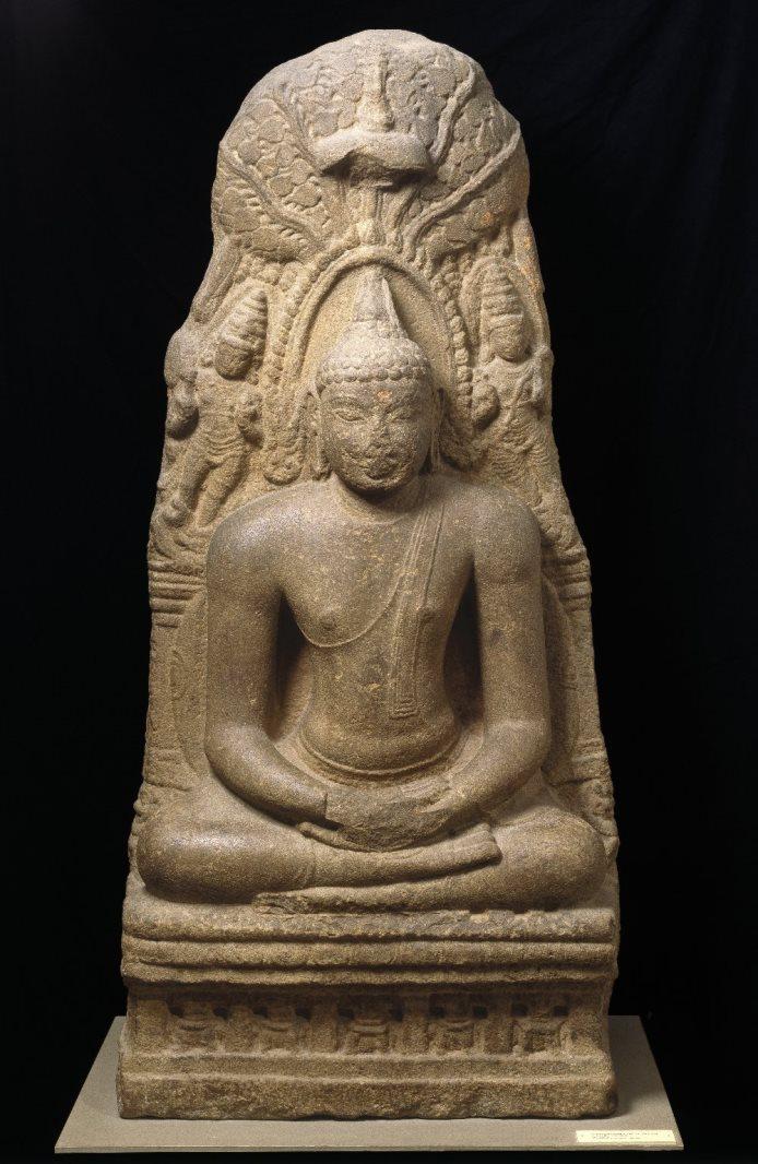 Будда медитирует под деревом Бодхи. X в.