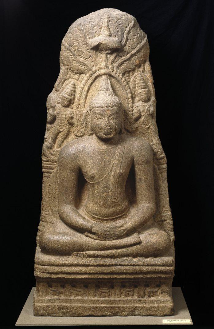 Будда медитирует под деревом Бодхи. Индия, X в.