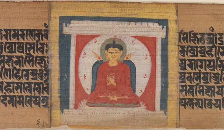 Будда на троне. Индия, XI в.