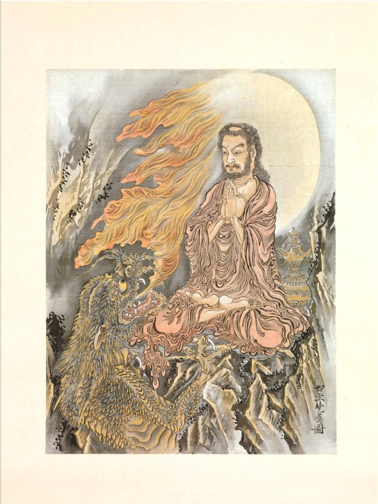 Будда побеждает демонов. 1888