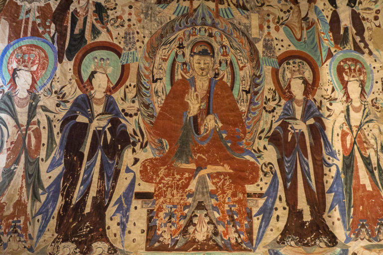 Будда с учениками. VI в.