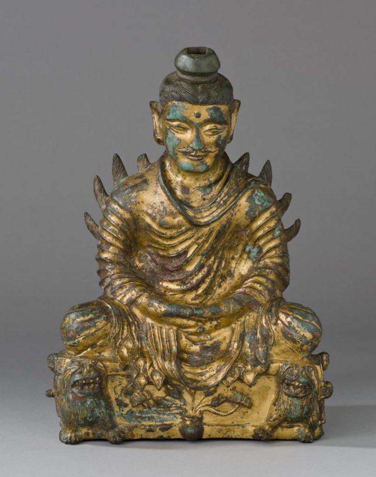 Будда, сидящий в медитации. Китай, III–IV вв.
