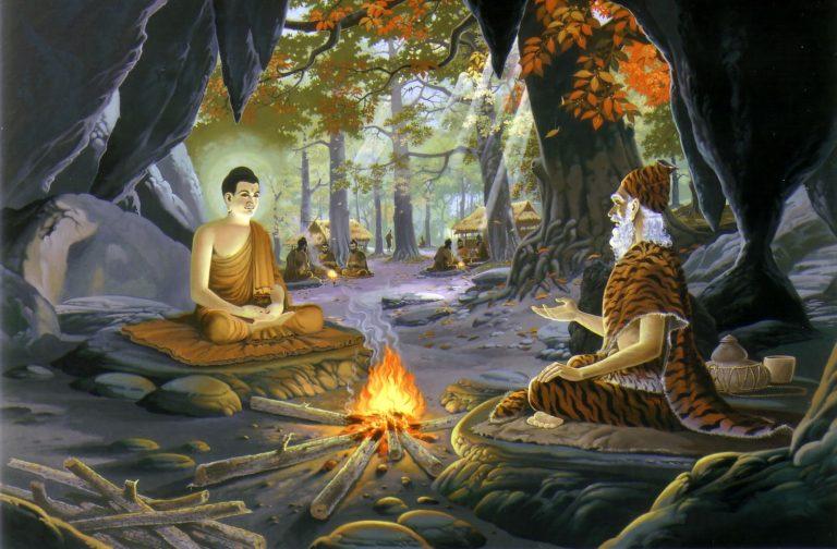 Будда у Алара Каламы