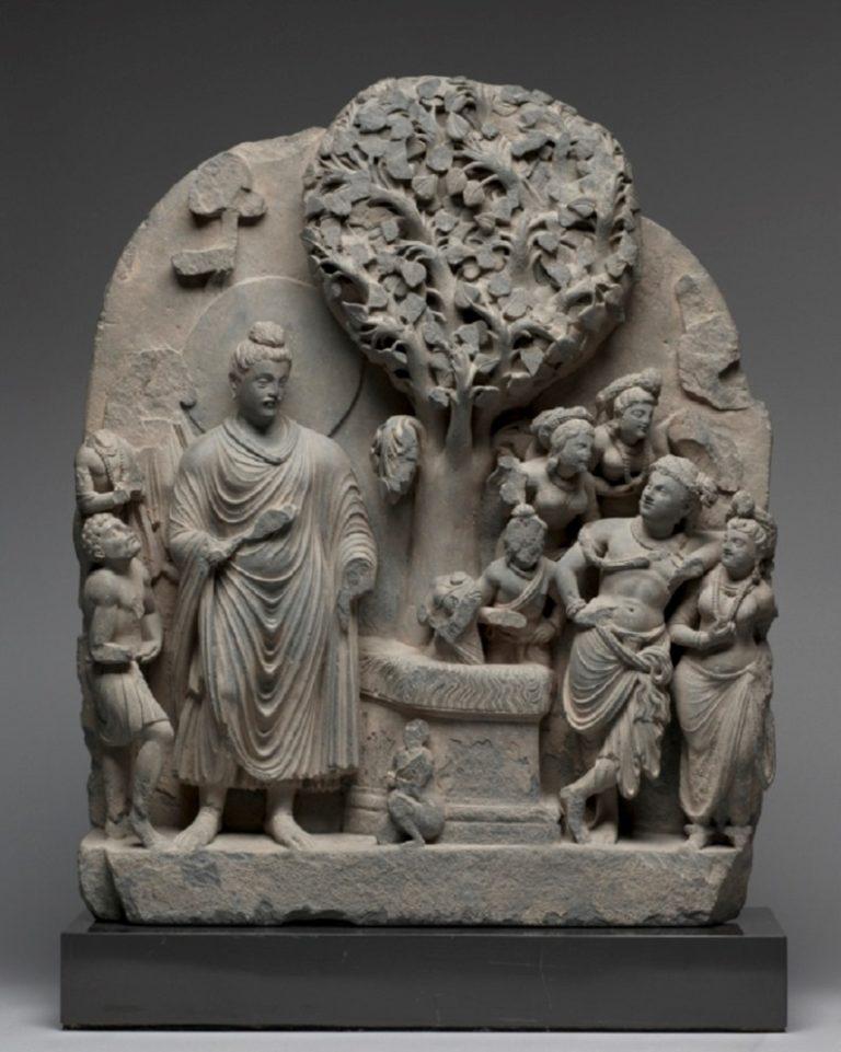 Будда у дерева Бодхи. II–III вв.