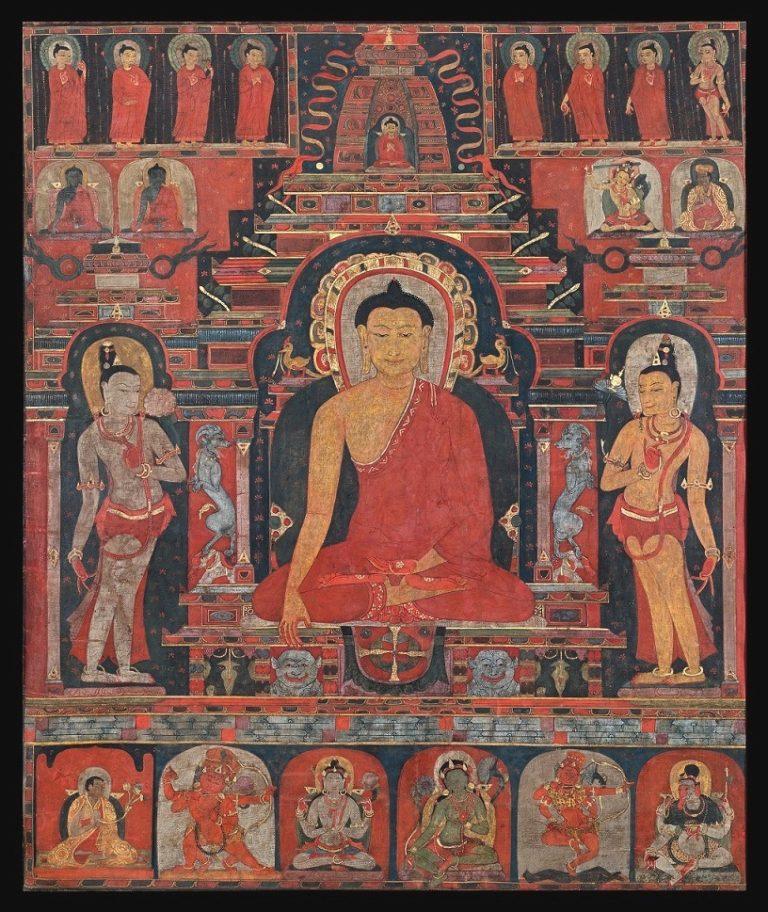 Будда в Бодхгае. XII–XIII вв. Тибет