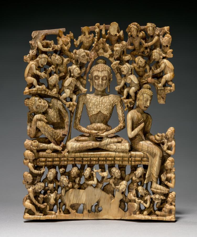 Будда в аскетических упражнениях. VIII в.
