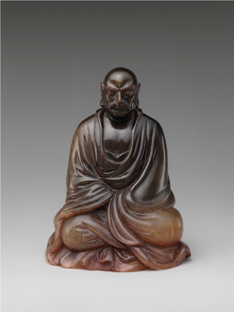 Буддийский монах Бодхидхарма. XVII в. Китай.