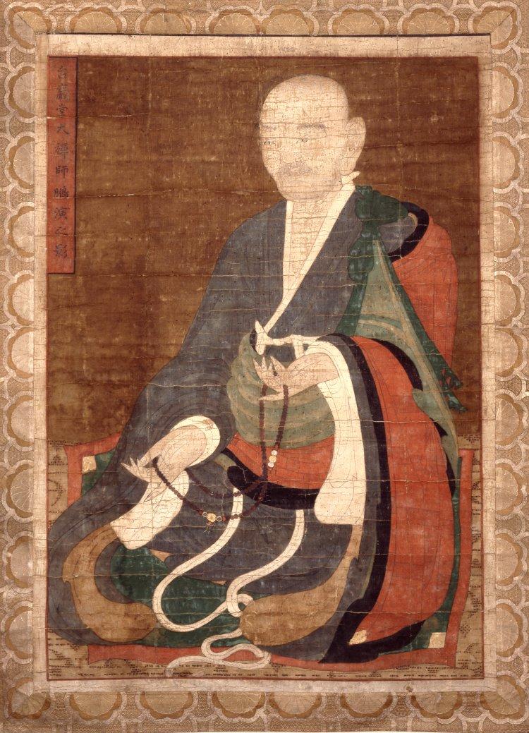 Буддийский монах с чётками. Корея, XVIII–XIX вв.