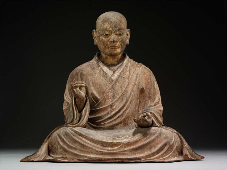 Буддийский монах. Япония, 1328