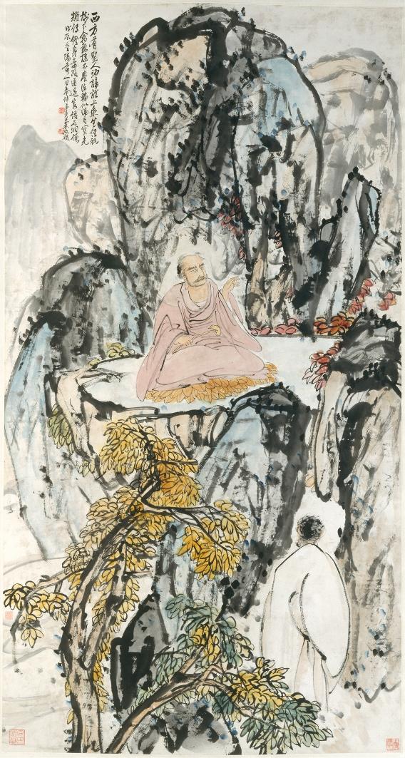 Буддийский мудрец. Китай, 1928