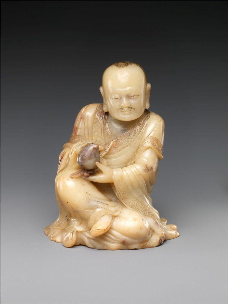 Буддист, держащий персик. XVII в. Китай