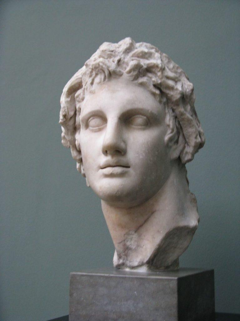Бюст Александра Македонского (356–323 гг. до н.э.)
