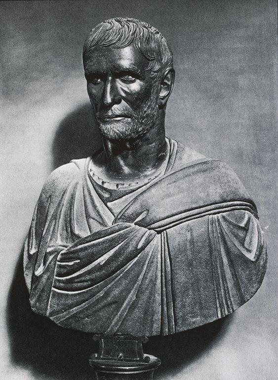 Бюст Брута (85–42 гг. до н.э.). IV–III вв. до н.э.