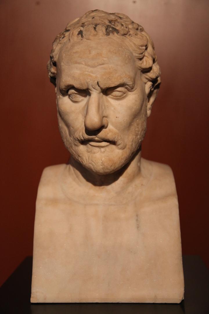 Бюст Демосфена (384—322 гг. до н.э.)