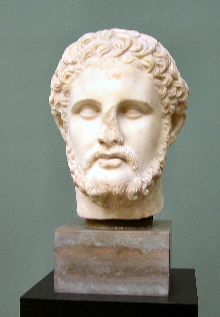 Бюст Филиппа II Македонского
