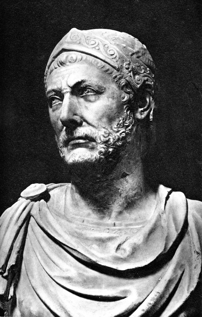 Бюст Ганнибала (247–183 гг. до н.э.)