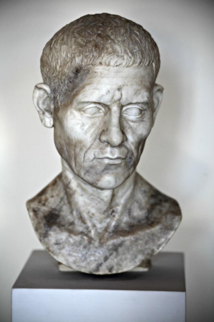 Бюст Луция Корнелия Суллы Счастливого (138–78 гг. до н.э.)