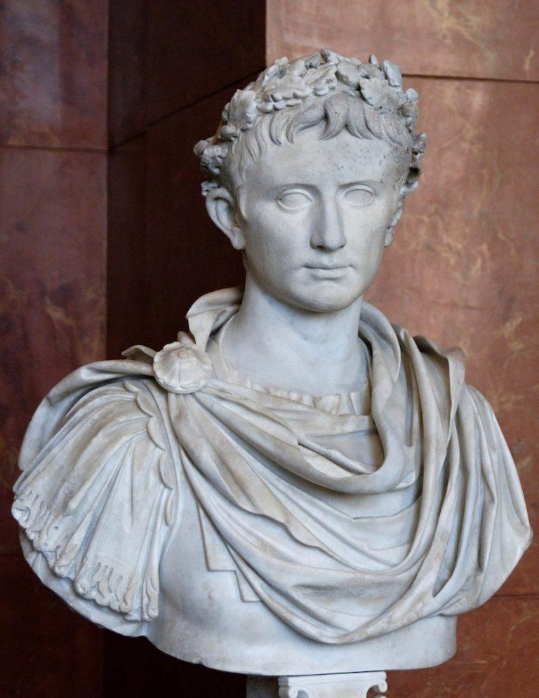 Бюст Октавиана Августа (63 г. до н.э.–14 г. н.э.). I в. н.э.