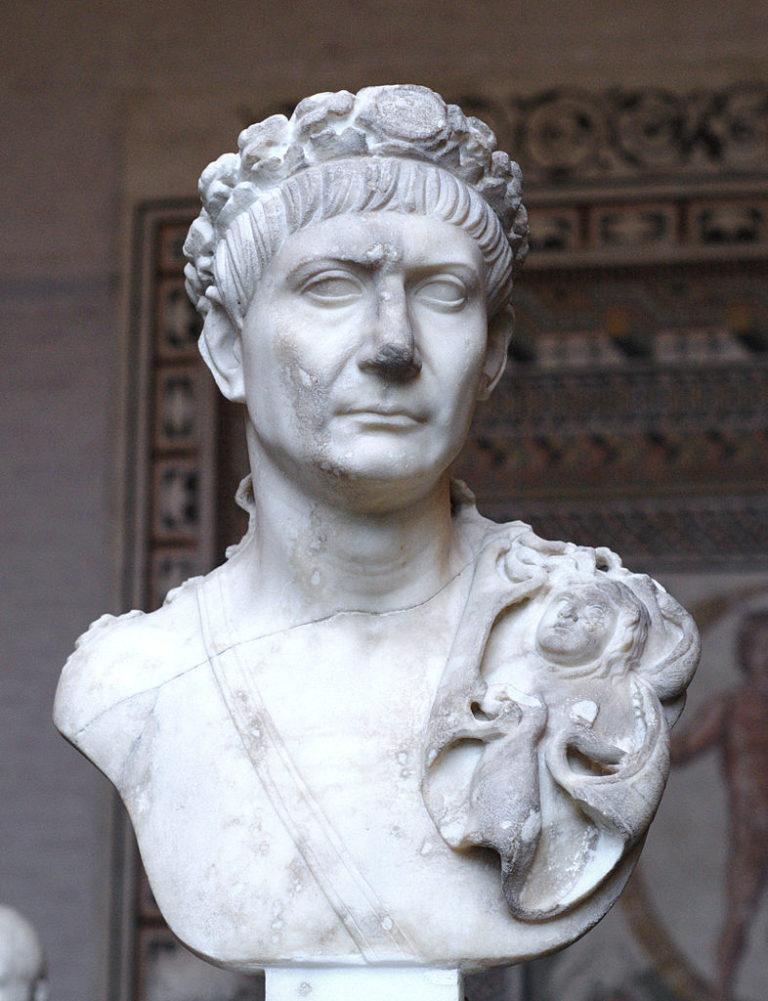 Бюст Траяна (53–117 гг. н.э.)