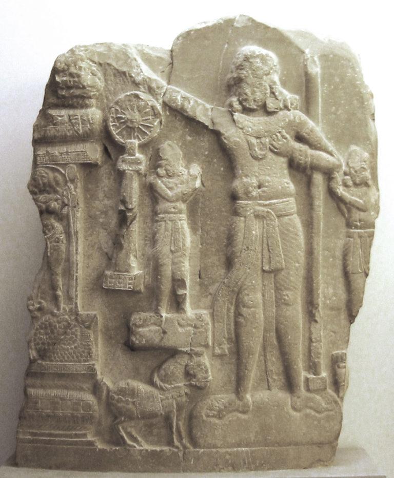 Чакравартин (санскр. «тот, который поворачивает колесо», идеальный правитель). I в.