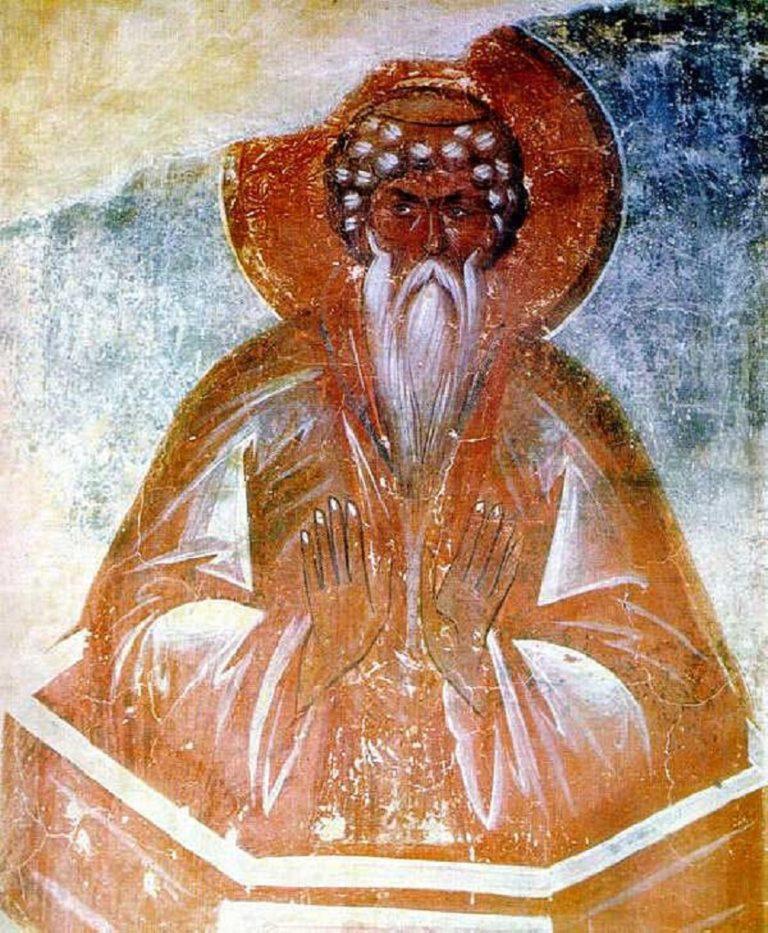 Даниил Столпник. 1378 г.