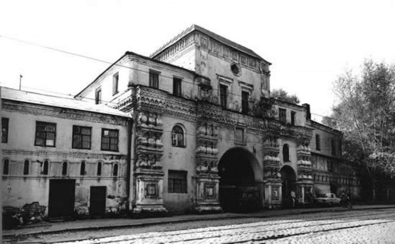 Данилов монастырь до реставрации