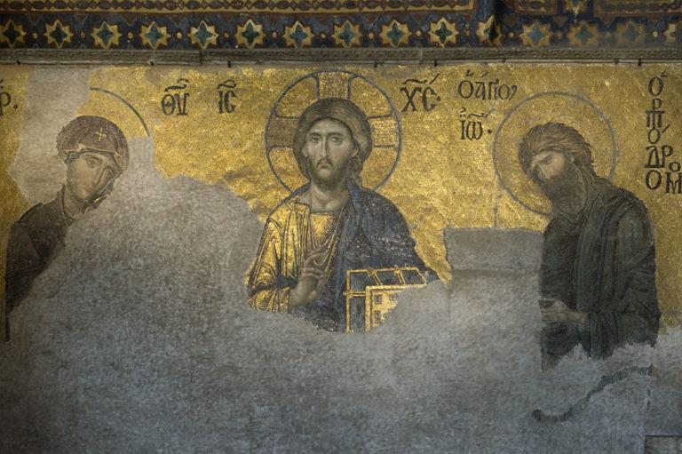 Деисис. 1352 г.