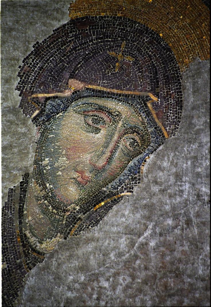 Деисис. Богородица. 1352 г.