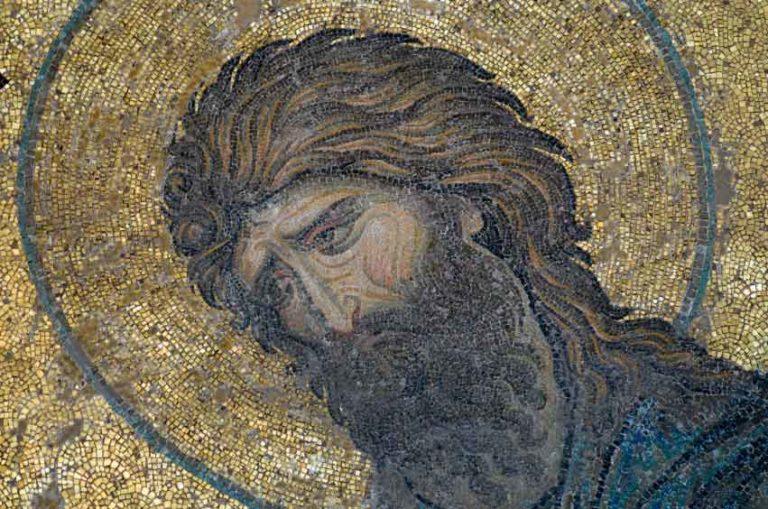 Деисис. Иоанн Креститель. 1352 г.