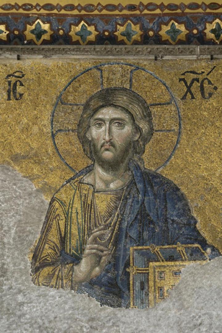 Деисис. Спаситель. 1352 г.