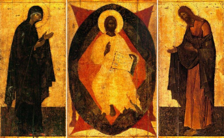 Деисусный чин. 1405 г.