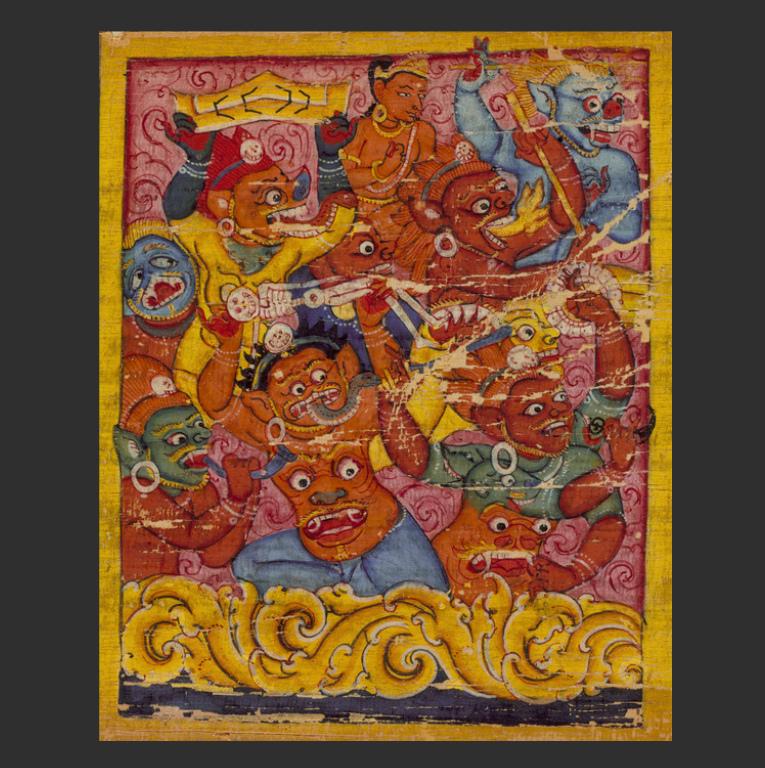 Демоны Мары. Непал, XI в.