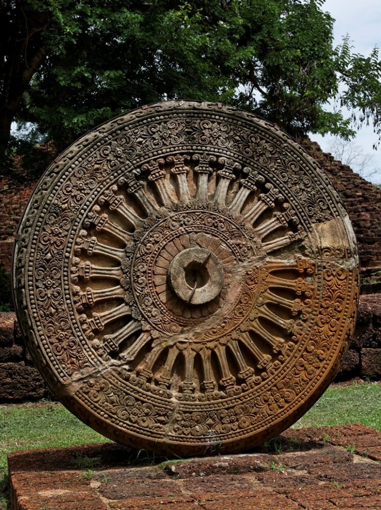 Дхармачакра. Исторический парк Си Тэп, Тайланд
