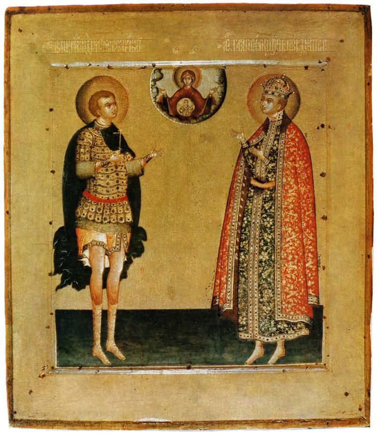 Дмитрий Солунский и Дмитрий-царевич. Начало XVII в.