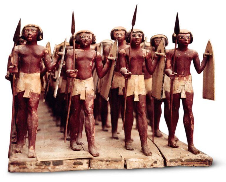 Древнеегипетская армия. XIII в. до н.э.