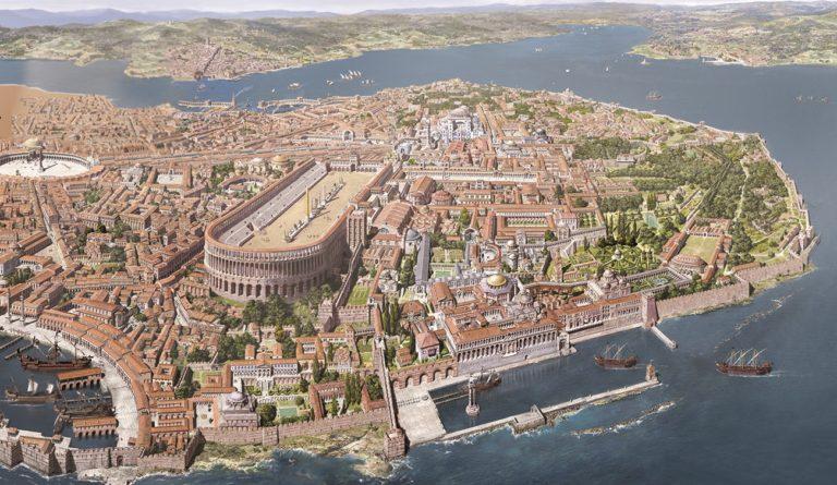 Древний Константинополь
