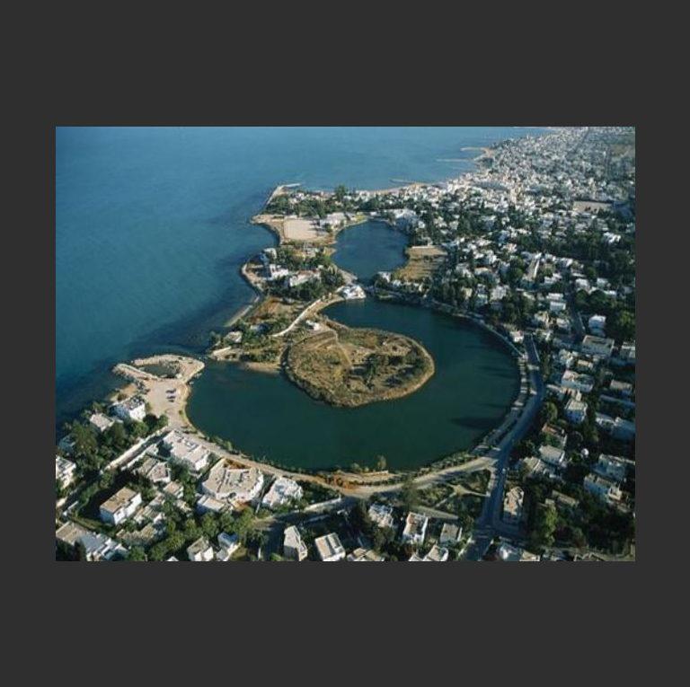 Древний порт Карфагена в наши дни