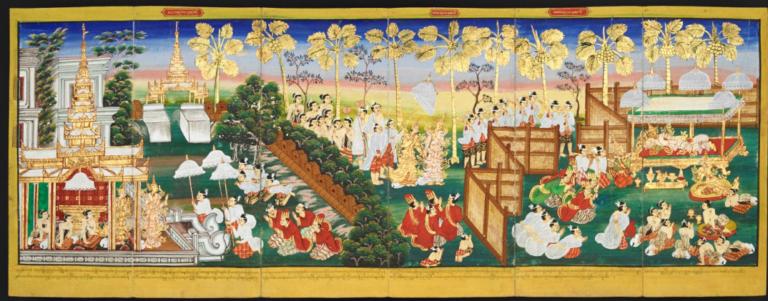 Джатака о великом Судассане (Mahasudassana-Jataka)