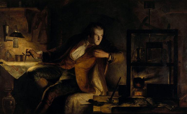 Джеймс Уатт и его паровая машина – на заре XIX века. 1855