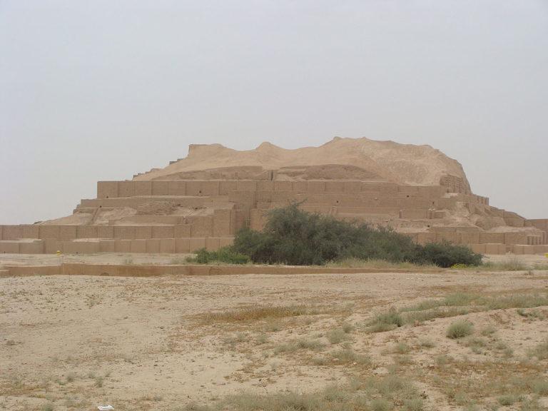 Эламский Зиккурат Дур-Унташ. 1300 г. до н. э.